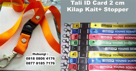 Kait Tas 2cm tali id card 2 cm kilap kait stopper barang promosi