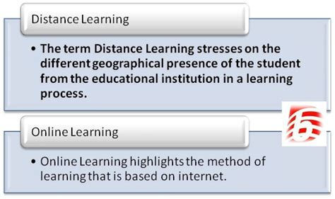 Is Distance Mba by Difference Between Distance Learning And Learning