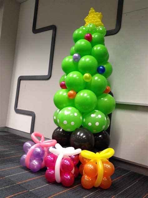 how to make a balloon christmas tree diy 18 alternative trees safe for toddlers