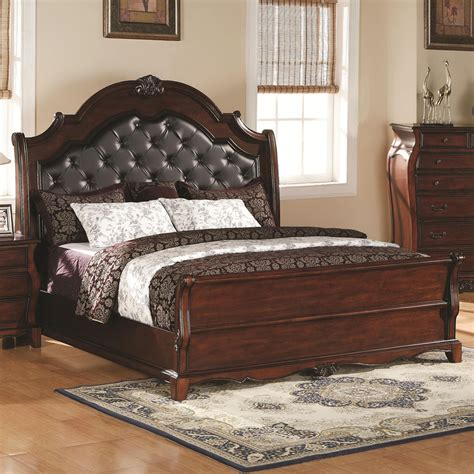 dark wood headboard queen headboards for queen bed simple bedroom design with