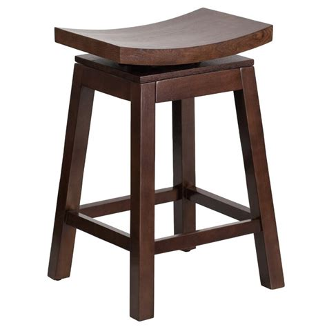 26 quot saddle seat counter stool in cappuccino ta saddle 2 gg