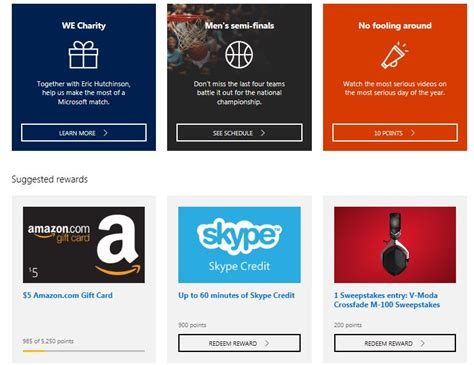 Amazon Gift Card Reward - microsoft reward points 5 amazon gift card 3 dave gates