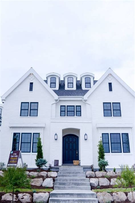 black window frames white house best 25 black windows exterior ideas on pinterest black house dark house and black