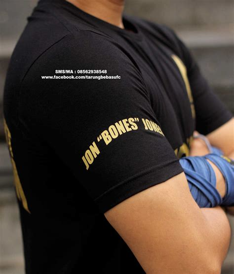 Tshirt Kaos Bone jual kaos ufc jon bones jones 08562938548 grosir tutorial