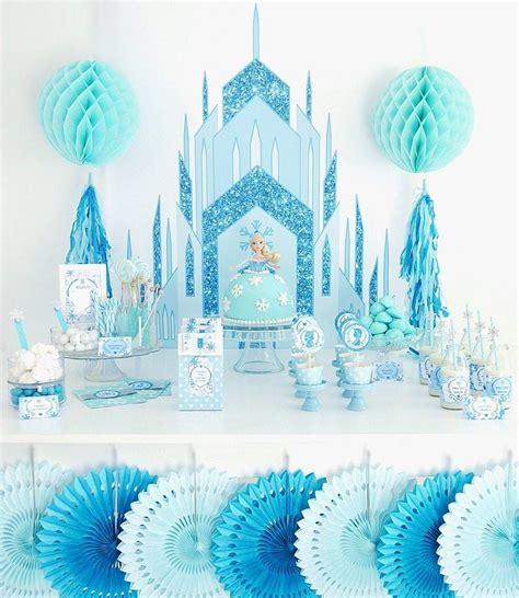 ice princess birthday party printables supplies birdspartycom