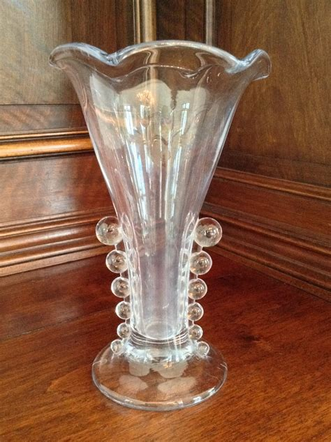 Candlewick Vase by Candlewick Clear Vase