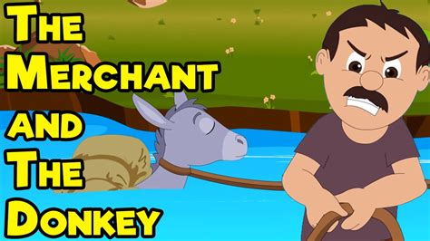 Hindi Nursery Rhymes by The Merchant And The Donkey Short Moral Stories For Kids