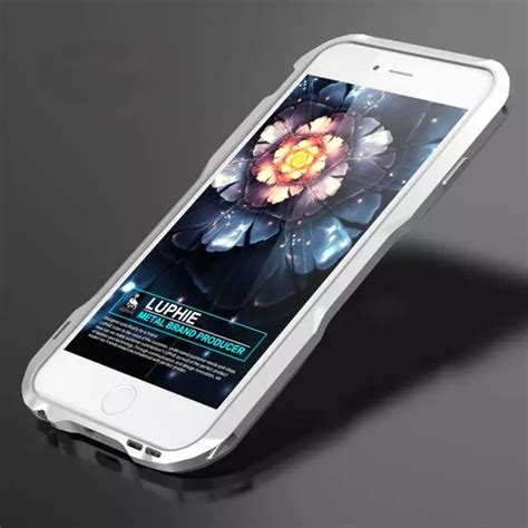 luxury shockproof aluminum metal bumper frame cover for iphone 8 plus 7 6s ebay