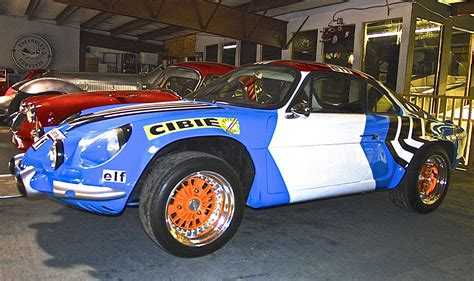 rally ch alpine renault a110 at motoreum atx car
