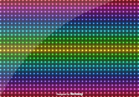 colored led lights vector multicolored led lights background free