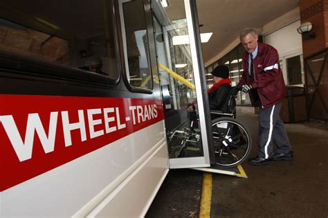wheels section toronto star ttc wants to integrate wheel trans into rest of transit