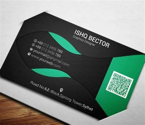 business card template psd 2015 free black green eco business card template psd titanui