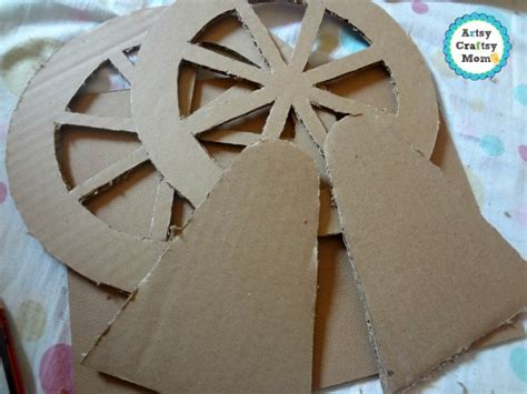 How To Make A Paper Ferris Wheel - ferris wheel craft artsy craftsy