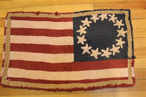 american flag rugs american flag small latch hook rug collectors weekly