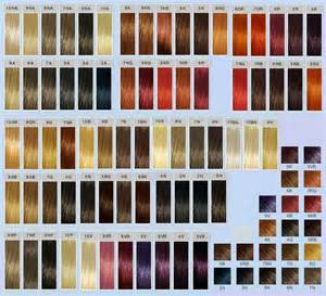 goldwell elumen color chart goldwell color chart images