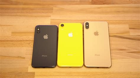 comparison the iphone xr s single compete with the iphone xs and xs max s two