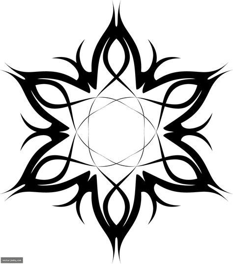 tattoo flower vector tribal vector art clipart best