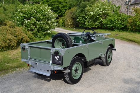 land rover series 1 80 quot 1948 my silver chassis ken