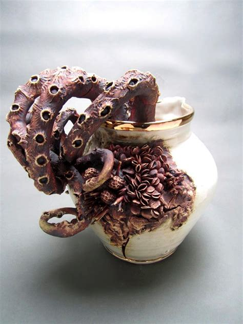 Marine Bottom Feeders bottom feeders ceramic objects encrusted with marine by o malley culture scribe