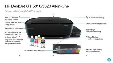Printer Hp Gt printer hp gt 5810 modif asli pabrik plustech komputer