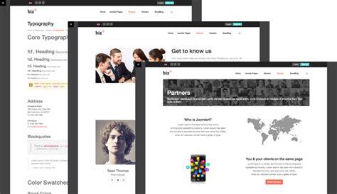 multiple layout joomla template review responsive joomla template for business ja biz