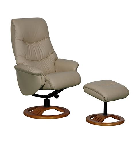 leather recliner swivel gfa toulouse taupe full leather swivel recliner