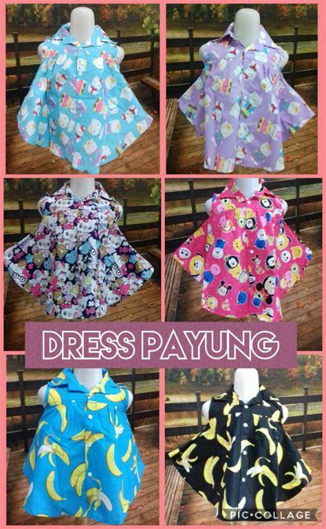 Dres Payung by Distributor Dress Payung Anak Perempuan Murah 22ribuan