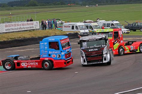truck racing uk truck racing proves you don t to go fast to be