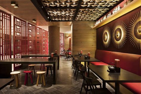 restaurant interior design ideas chinese restaurant interior design idea with touched red