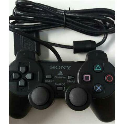 Kaos Pria Ps 124 stick ps2 stik ps 2 controller playstation 2 shopee