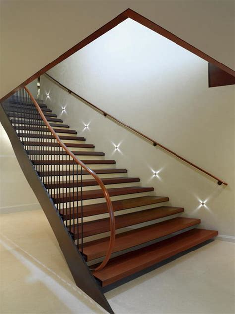 Staircase Lighting Fixtures 15 Modern Staircases With Spectacular Lighting
