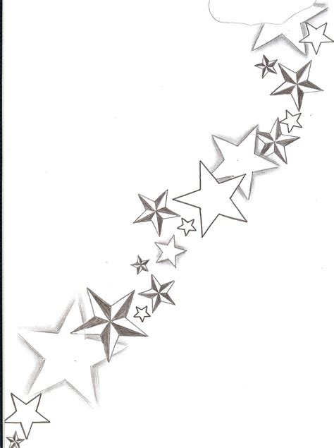 shaded star tattoo designs flash shadings by 2face on deviantart
