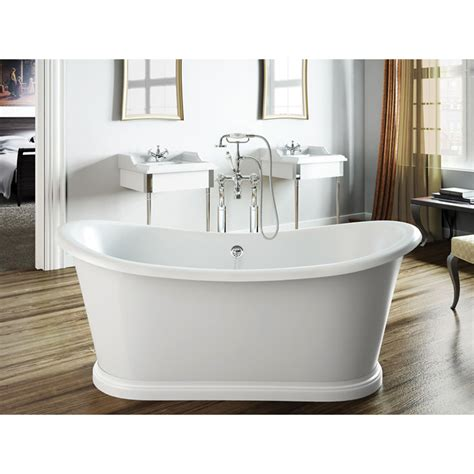 boat bathtub freestanding boat bath buy online at bathroom city