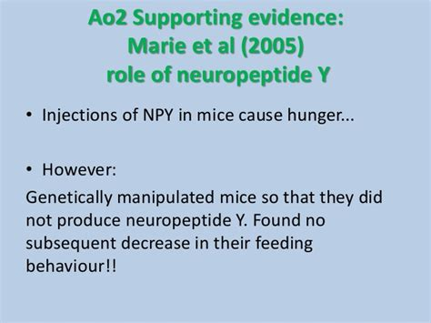 neuropeptide y carbohydrates neural mechanisms of a2