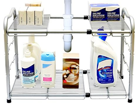 under sink shelf organizer top rated under kitchen sink organizer shelf under sink