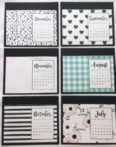 How To Make Your Own Desk Calendar by Canary Nest Creative Ideas