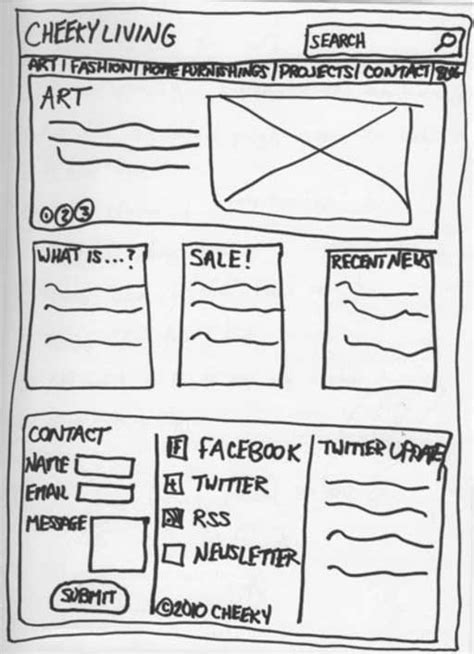 how to make a doodle your homepage enhance your website by creating wireframes