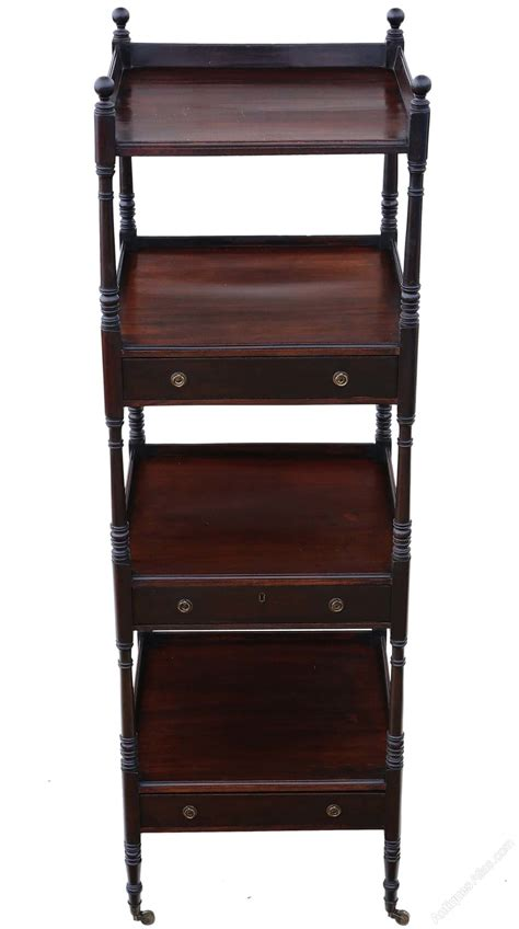mahogany display dumb waiter buffet serving table
