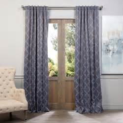 Silver Blackout Curtains Exclusive Fabrics And Furnishings Seville Grey Silver Blackout Curtain Pair 2 Panels Panels
