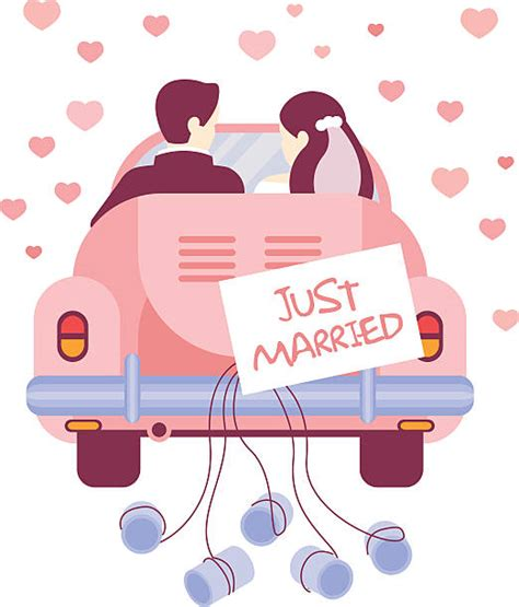 Just Married Auto Bilder by Just Married Car Clipart Clipartxtras