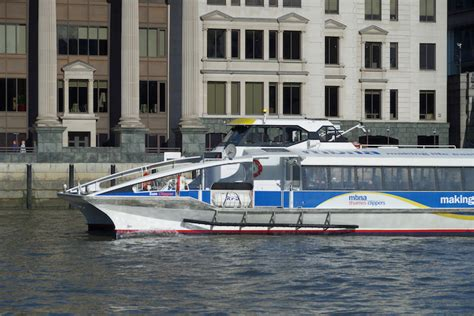 thames clipper to gravesend thames clippers will extend out of london in this trial