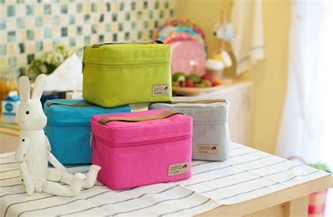 Promo Lunch Cooler Bag Tas Bekal Panas Dingin 164 Weekght jual cooler travel lunch bag pouch tas bekal makanan