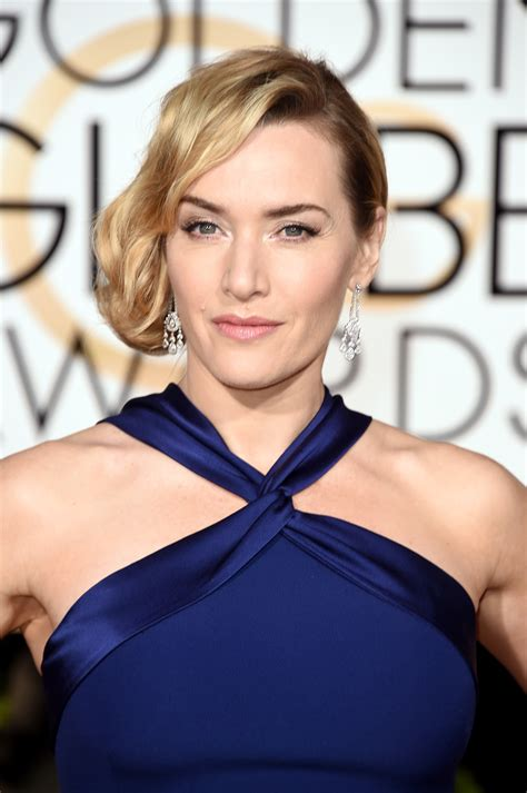 Kate Winslet At The Golden Globes by Lomakeupblog Kate Winslet Golden Globes