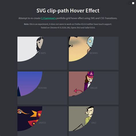 flat design hover effect svg clip path hover effect coding code css css3 hover html