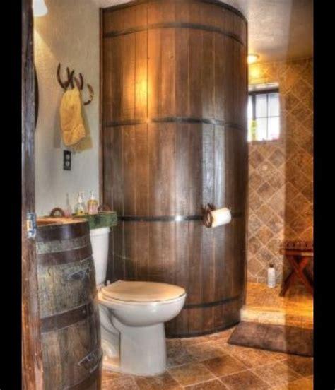 Small Farmhouse Floor Plans Whiskey Barrel Shower Inside The Home Pinterest