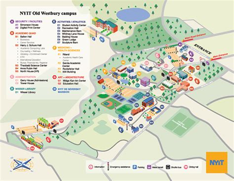 florida institute of technology map new york institute of technology cus map on behance