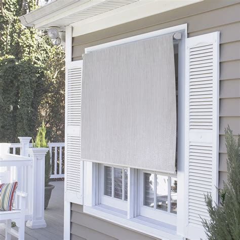 Coolaroo Blinds And Awnings by Coolaroo Premier Series Outdoor Roller Solar Shade Reviews Wayfair