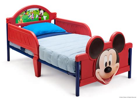 mickey bed disney mickey mouse toddler bed by delta children