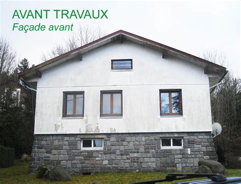 Construction Site Plan by R 233 Novation De Fa 231 Ades Sur Une Ancienne Maison R 233 Novation