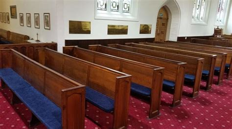 Church Pew Upholstery by Church Pew Cushions And Kneelers